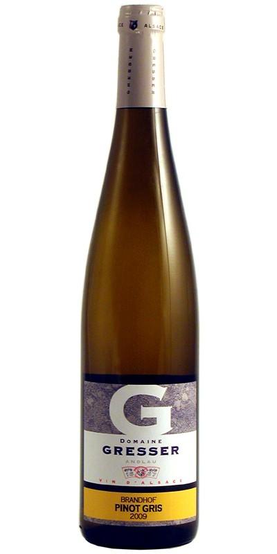 """Pinot Gris, Gresser """"Brandhof"""""""