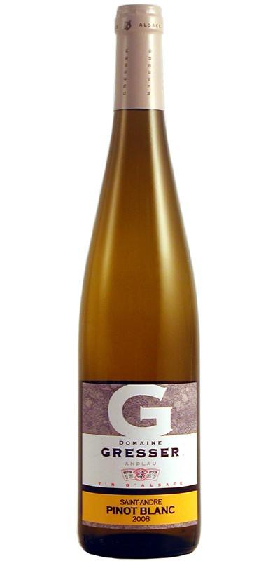 "Pinot Blanc, Gresser ""Saint André"""